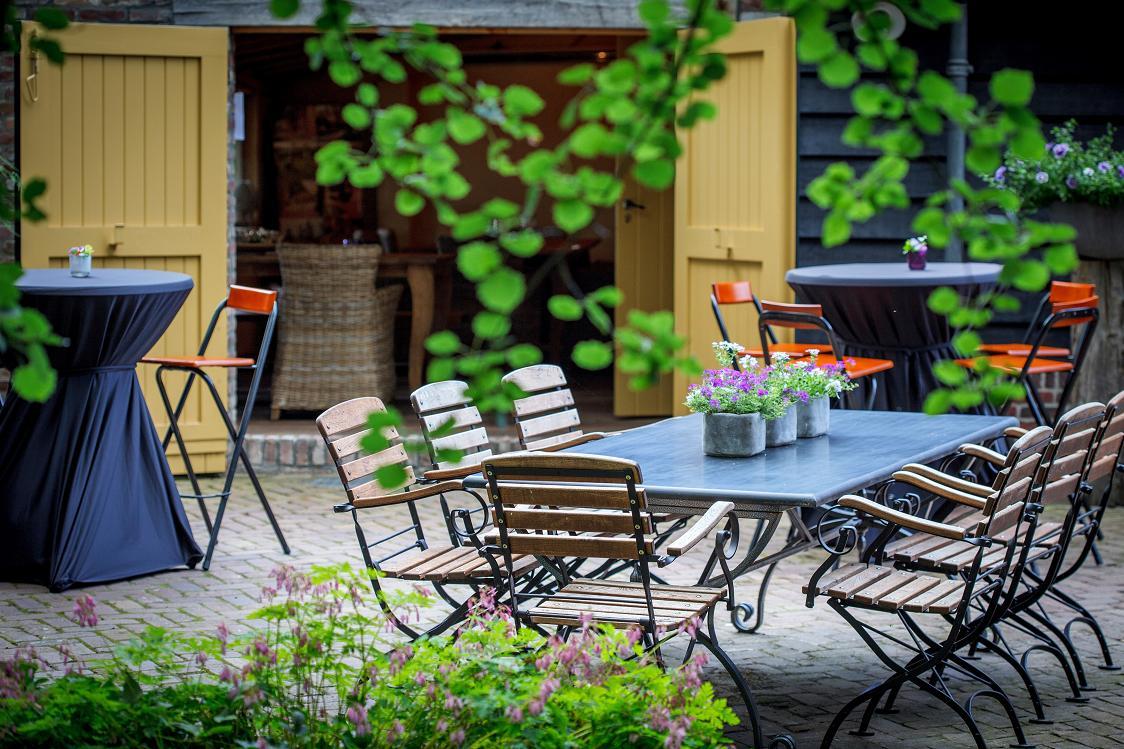 Foto's website / Anders feesten terras