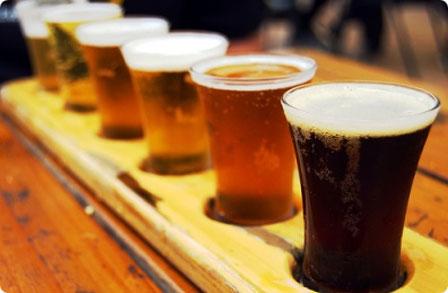 Foto's website / bier proeven