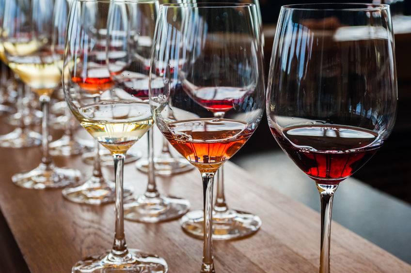 Foto's website / wijn proeven